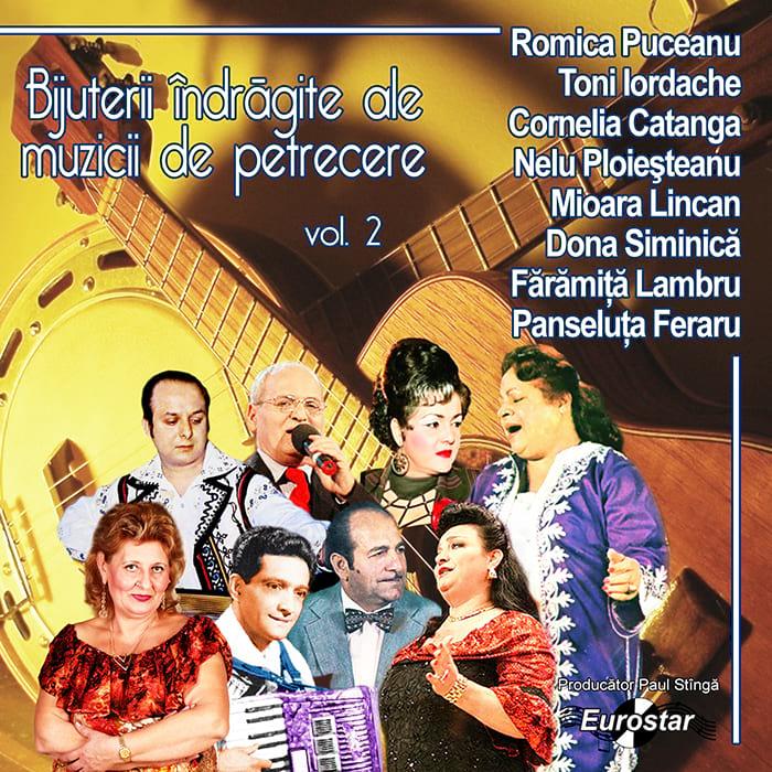 Bijuterii îndrăgite ale muzicii lăutărești, vol. 2