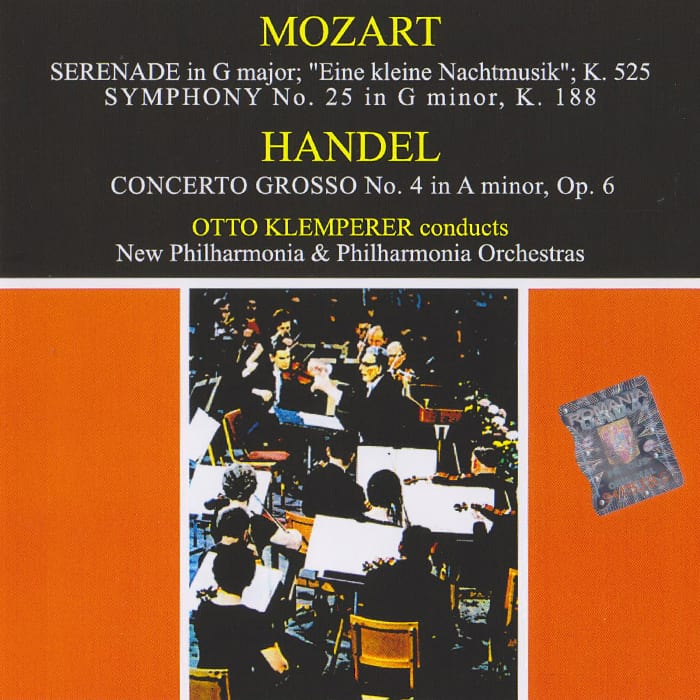 Serenade in G, Symphony No. 25, Concerto Grosso in A minor